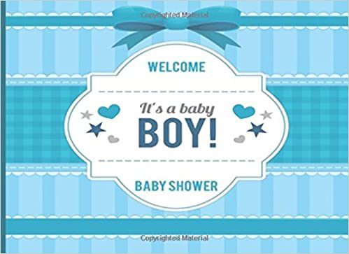 Baby Shower: Welcome Baby, Baby Shower, Message Log Keepsake, Notebook For  Family And Friend To Write In (Guest Book), Gift For ... Shower Gifts, Baby  ...