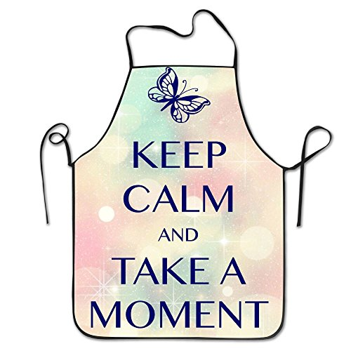 Les Mis Costumes Images (Keep Calm And Take A Moment Restaurant Home Kitchen Bib Apron For Women And Men, Apron Bib For Cooking, Grill And Baking, Crafting, Gardening - Adjustable Neck Strap)