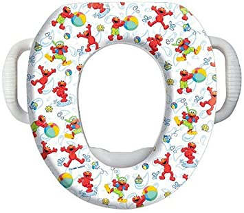 Sesame Street Potty Soft Seat  Elmo. Amazon com   Sesame Street Potty Soft Seat  Elmo   Toilet Training