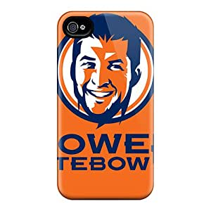 Rugged Skin Cases Covers For Iphone 6- Eco-friendly Packaging(denver Broncos)