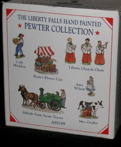 The Liberty Falls Hand Painted Pewter Collection AH199