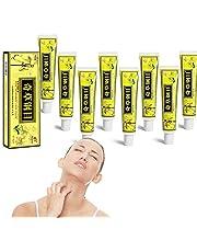 8Pcs Natural Chinese Herbal Eczema Cream, Anti-Itch Cream, Psoriasis Creams, Dermatitis and Eczema Pruritus Psoriasis Ointment, Herbal Skin Solutions Cream