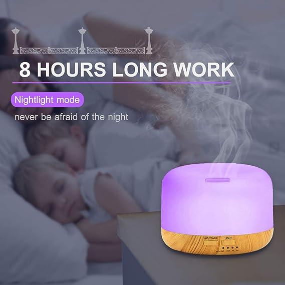 Ultrasonic Cool Mist Humidifiers Diffuser Suptempo