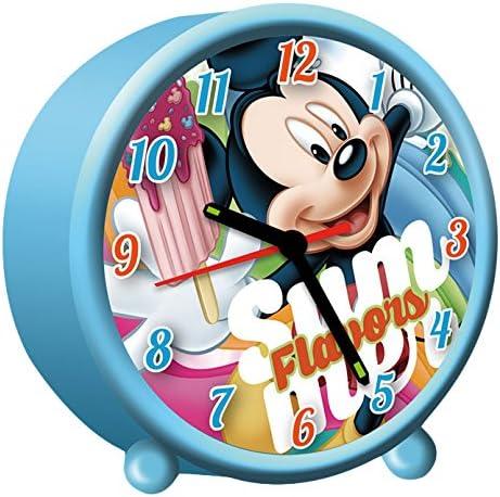 /Wecker rund Kids Euroswan wd17197 Mickey Mouse/