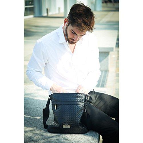 V&A Enterprises , Damen Tote-Tasche schwarz schwarz