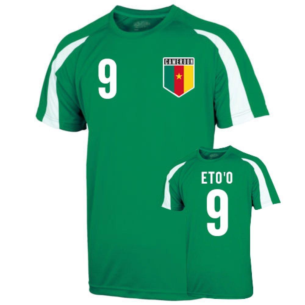 Cameroon Sports Training Jersey (etoo 9) B00KUIBWZ4 Large (42-44