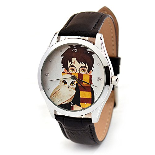 Harry Potter Quartz Watches For Women And Men - Harry Potter Leather Wrist Watch - Gifts For Harry Potter - Band Harry Watch Potter