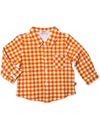 Baby Boys Fair And Square Long Sleeve Button Shirt