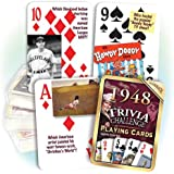 1948 Trivia Playing Cards: 70th Birthday or Anniversary Gift
