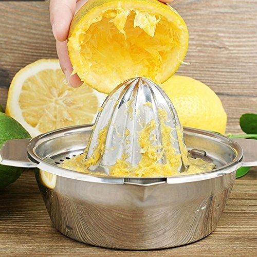 Amazon.com: eDealMax acero inoxidable bricolaje Exprimidor colador de naranja lima limón fruta Prensa Exprimidor fabricante: Kitchen & Dining