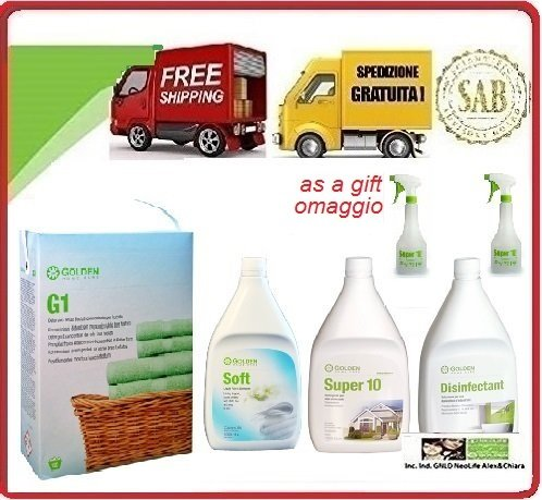 Golden House Cleaning Pack Pacco Familia (G-1 Concentrado para ...