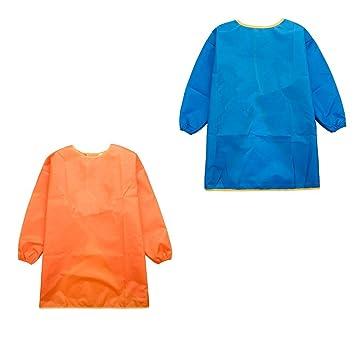 Blau Baoblaze Malkittel f/ür Kinder M