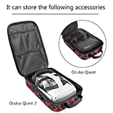 Pinson Hard Travel Case Compatible with Oculus