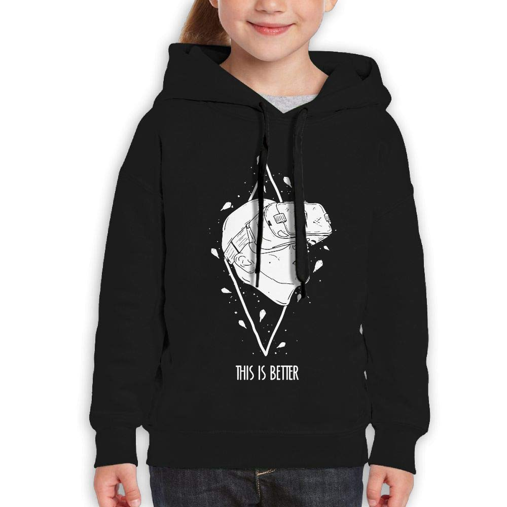 Yishuo Youth Limited Edition Classic Running Hoodies Black