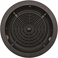 SpeakerCraft Profile CRS6 One 6.5 In-Ceiling Speaker - Each (Black)