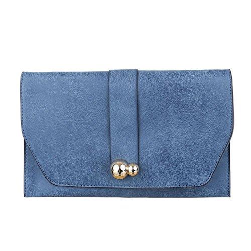 Ital-DesignSchultertasche Bei Ital-design - Bolso de hombro Mujer azul claro