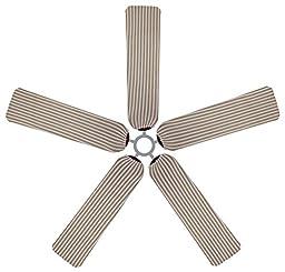 Fan Blade Designs 6540 Ceiling Fan Blade Covers, Stripes