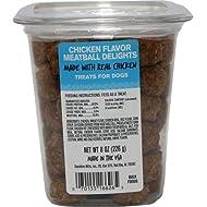 Sunshine Mills Meatball Delights Dog Treat Chicken, Large