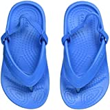 crocs Kids' Classic K Flip Flop, Ocean, 3 M US Little Kid