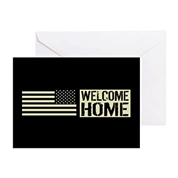 Amazon cafepress us military welcome home greeting card cafepress us military welcome home greeting card note card birthday card m4hsunfo