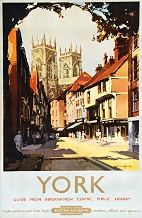 TU2 Vintage Whitby Yorkshire LNER Railway Travel Poster Re-Print A4
