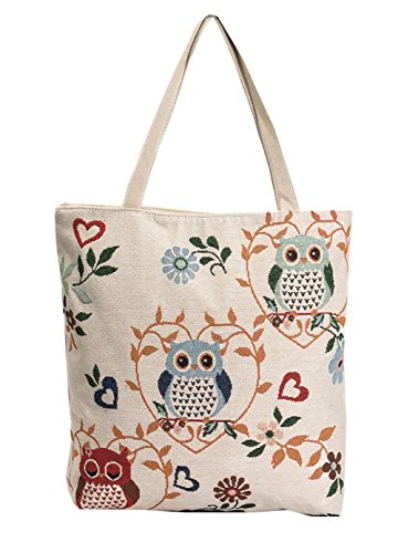 ery Pattern Women's Canvas Tote Bag Two Strap Shoulder Bag Emroidery Flowers Tourist Bag Shopping Bag (Flower Girl Canvas Tote Bag)