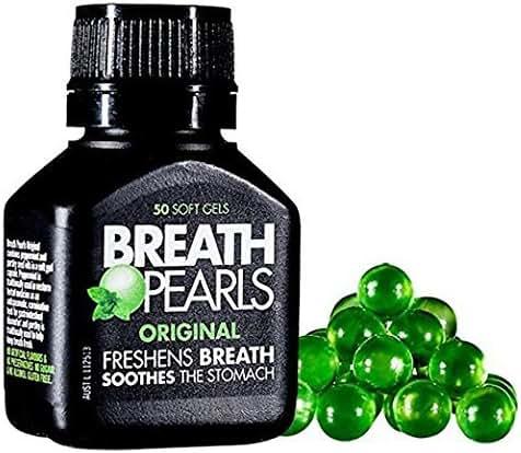 Easy Breath Pearls Original Freshens Breath (50 softgels)