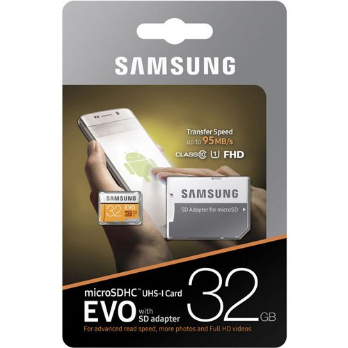 Samsung 32GB MicroSD HC Class 10 UHS-1 Mobile Memory Card for Samsung Galaxy S7 & S7 Edge S8 & S8 Plus & SD Memory Card Reader