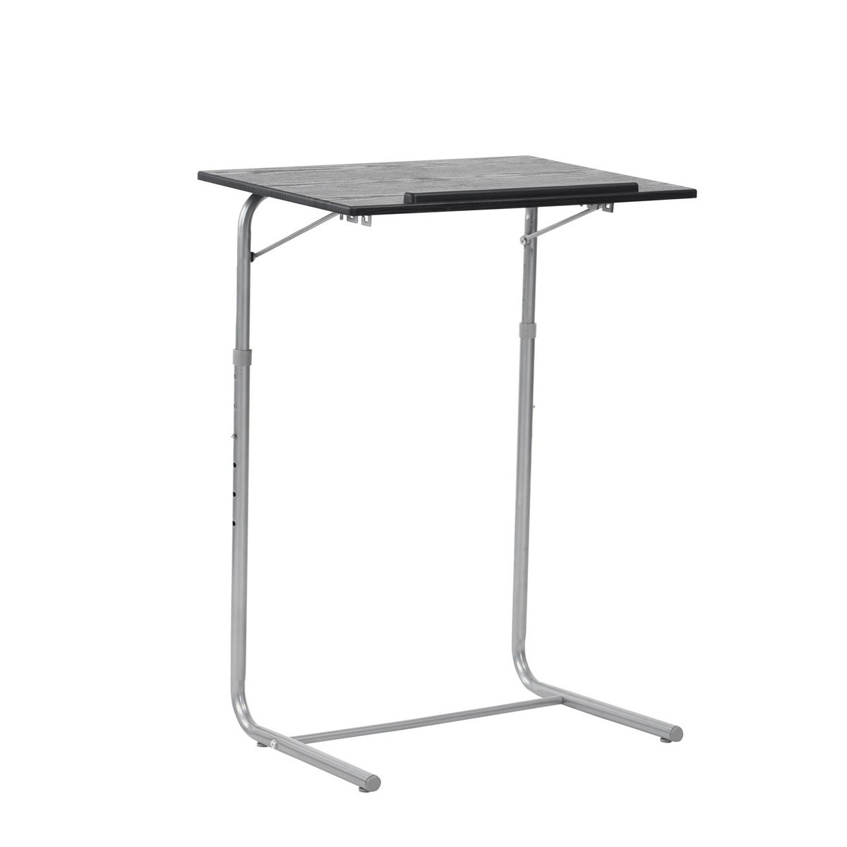 Laptop Desk Sturdy Stand Framodo Adjustable Height Computer Desktop Over Bed Sofa Notebook Table for Reading Writing, Black