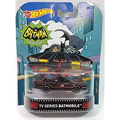 Hot Wheels Retro Entertainment Classic TV Seies Batman Batmobile 2016 1/64 Scale Diecast: Everything Else