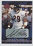 Adrian Peterson (Football Card) 2002 Leaf Rookies & Stars - [Base] - Rookie Autographs [Autographed] #101