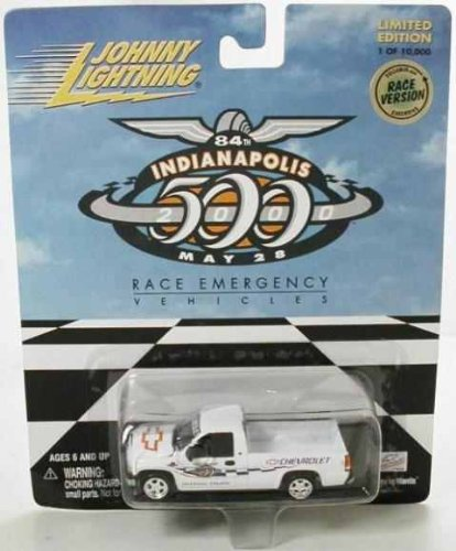 JOHNNY LIGHTNING INDY 500 RACE EMERGENCY OFFICIAL TRUCK