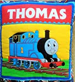Quillow (Quilt/Pillow Combo) Thomas Train MM #2 Amish Handmade in USA