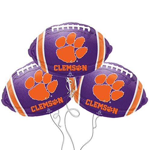 Party Explosions Clemson Football Shaped 18