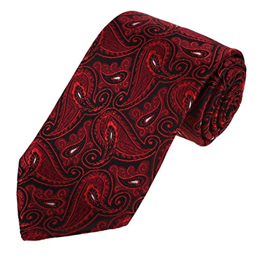 EAA1B08D Best Relax Neckties Classic Contemporary Red Microfiber Patterned Perfect Valentines Day Presents for Mens By Epoint (Valentine Day Presents For Men)
