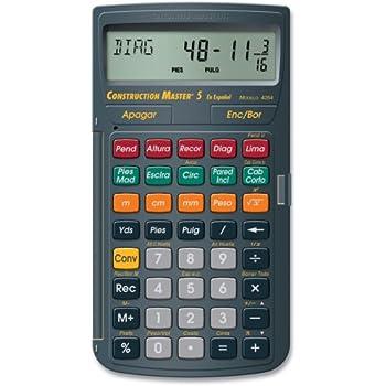 amazon com calculated industries 4019 materials estimating