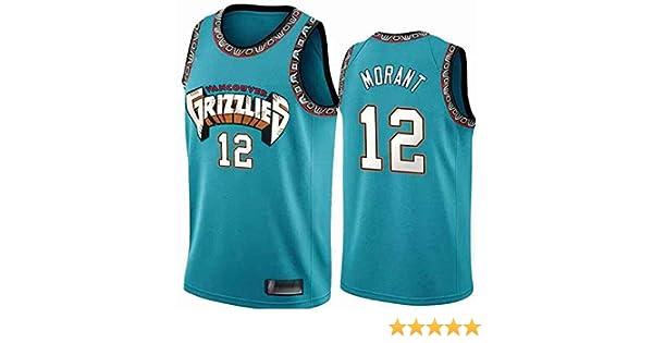 YSMART Ja Morant #12 Memphis Grizzlies Jersey, Retro All-Star De Jersey para Hombre, Tela Fresca Y Transpirable, Camiseta De Baloncesto: Amazon.es: Deportes y aire libre