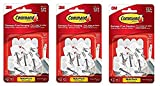 Command Wire Hooks Value Pack, Small, White, 9-Hooks (17067-9ES) (3-(Pack))