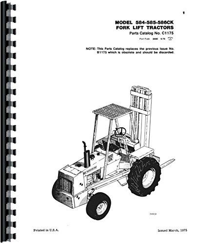Read Online Case 586C Forklift Parts Manual pdf epub