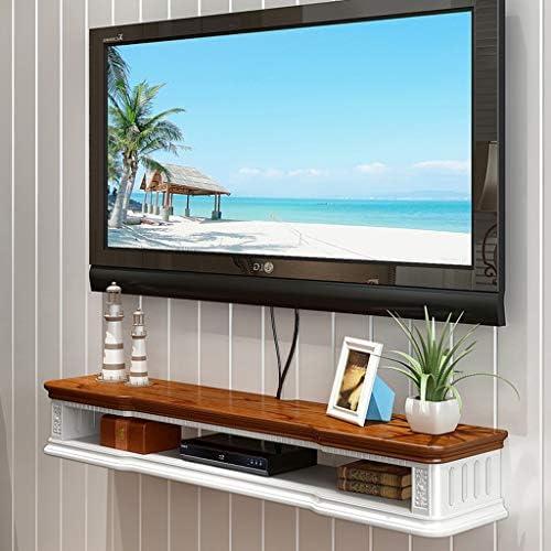 フローティングシェルフ フローティング棚 ウォールマウント テレビキャビネット テレビスタンド 壁の背景 収納棚 にとって DVD 衛星放送テレビボックス ケーブルボックス (色 : C, サイズ さいず : 80cm)