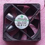 For XINRUILIAN RDH1225S Cooling Fan 12V 0.4A 12025 Power Box