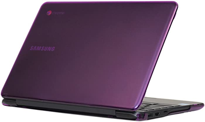 "iPearl mCover Hard Shell Case for 11.6"" Samsung Chromebook 3 XE500C13 Series (NOT Compatible with Older XE303C12 / XE500C12 / XE503C12 Models) Laptop - Chromebook 3 XE500C13 (Purple)"