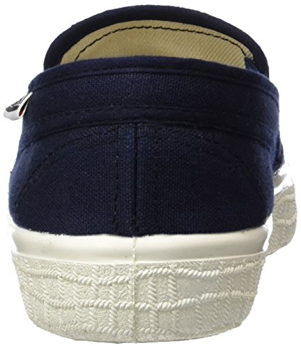 Basses Baskets Adulte Kawasaki 592 Mixte Slim Sab Blau Bleu Navy Dark qTwSPASF