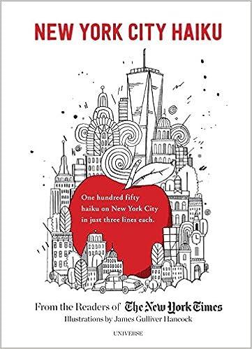 New York City Haiku Readers Of The Times James Gulliver Hancock 9780789331205 Amazon Books