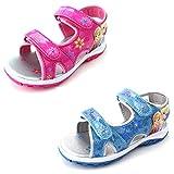 Disney Frozen Elsa Anna Girls Lighted Sport Sandals Shoes