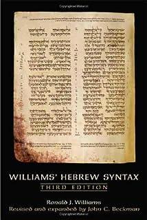 A grammar of biblical hebrew subsidia biblica paul joon t williams hebrew syntax third edition fandeluxe Gallery