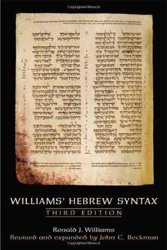 Hebrew Syntax