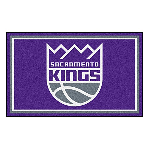 FANMATS 20443 NBA - Sacramento Kings 4'X6' Rug, Team Color, 44''x71'' by Fanmats