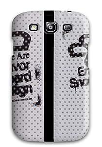 HDUFtfX367EGbva DavidMBernard Creative Stencil White Zoom Durable Galaxy S3 Tpu Flexible Soft Case