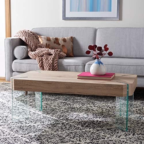 Safavieh Home Collection Katelyn Rectangular Leg Floating Coffee Table COF7002B